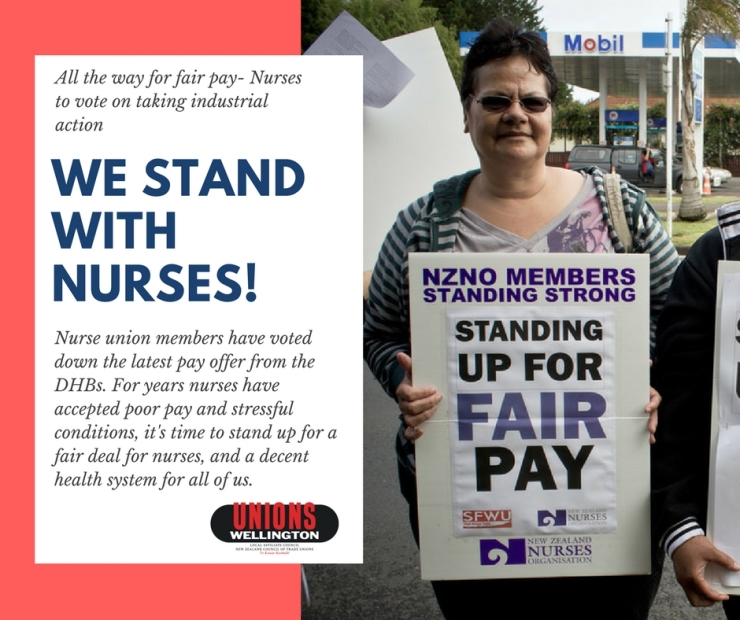 stand with nurses